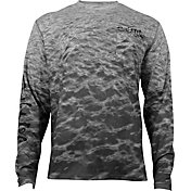 Salt Life Men's Metal Seas SLX UVapor Performance Long Sleeve Shirt