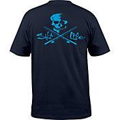 Salt Life Men's Skull and Poles T-Shirt