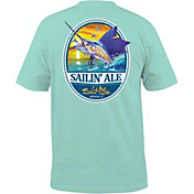 Salt Life Men's Sailin' Ale T-Shirt
