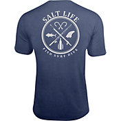 Salt Life Men's Salt Fix SLX UVapor Performance T-Shirt
