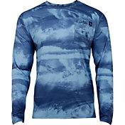 Salt Life Men's Stormy Waters SLX UVapor Performance Long Sleeve Shirt
