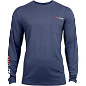 Salt Life Men's Vapor Scales Long Sleeve Performance Shirt