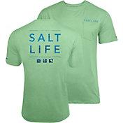 Salt Life Men's Water Icons SLX UVapor Performance T-Shirt
