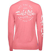 Salt Life Women's Be Free SLX UVapor Performance Long Sleeve Shirt