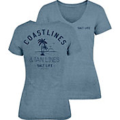 Salt Life Women's Coast Lines and Tan Lines T-Shirt