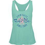 Salt Life Women's Livin' Salty Turtle Racerback Tank Top