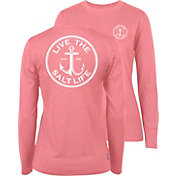 Salt Life Women's Anchor Gaff SLX UVapor Performance Long Sleeve Shirt