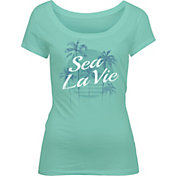 Salt Life Women's Sea La Vie Scoop Neck T-Shirt