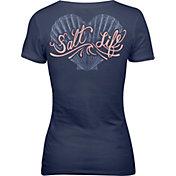 Salt Life Women's Seashell Love V-Neck T-Shirt