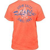 Salt Life Girls' Livin' Salty T-Shirt