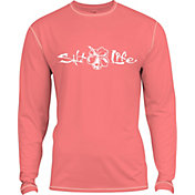 Salt Life Girls' Signature SLX UVapor Performance Long Sleeve Shirt