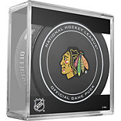 Sher-Wood Chicago Blackhawks 100th Anniversary Puck