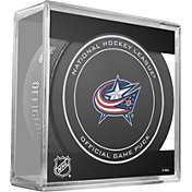 Sher-Wood Columbus Blue Jackets 100th Anniversary Puck