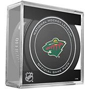 Sher-Wood Minnesota Wild 100th Anniversary Puck