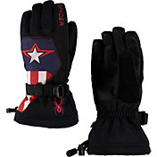 Spyder Boys' Marvel Overweb Ski Gloves