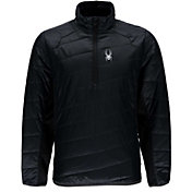 Spyder Men's Glissade Half Zip Insulated Pullover