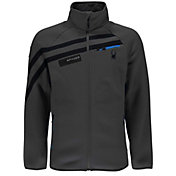 Spyder Men's Wengen Mid-Weight Full Zip Jacket