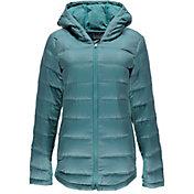 Spyder Women's Solitude Hooded Down Jacket