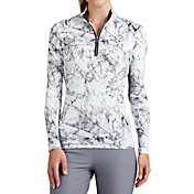 Tail Women's Printed 1/4-Zip Golf Top