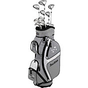Tour Edge Women's Lady Edge 16-Piece Complete Set – Silver/Black