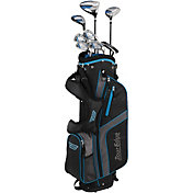 Tour Edge Junior Bazooka 360 Varsity 12-Piece Complete Set – Black/Blue