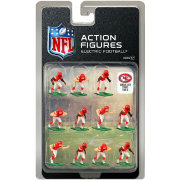 Tudor Games Kansas City Chiefs Dark Uniform NFL Action Figure Set