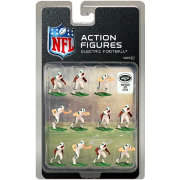 Tudor Games New York Jets White Uniform NFL Action Figure Set
