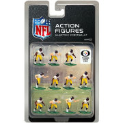 Tudor Games Pittsburgh Steelers White Uniform NFL Action Figure Set