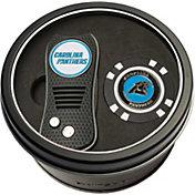 Team Golf Carolina Panthers Switchfix Divot Tool and Poker Chip Ball Marker Set