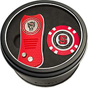 Team Golf NC State Wolfpack Switchfix Divot Tool and Poker Chip Ball Marker Set