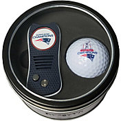 Team Golf Super Bowl LI Champions New England Patriots Switchfix Divot Tool + Golf Ball Tin Set