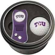 Team Golf TCU Horned Frogs Switchfix Divot Tool and Golf Ball Set