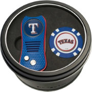Team Golf Texas Rangers Switchfix Divot Tool and Poker Chip Ball Marker Set