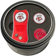 Team Golf Wisconsin Badgers Switchfix Divot Tool and Ball Markers Set