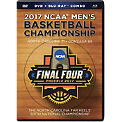 North Carolina Tar Heels 2017 NCAA Men's Basketball National Champions Blu-ray and DVD Combo