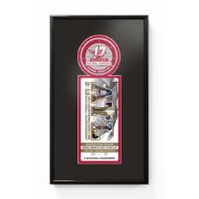 That's My Ticket 2017 National Champions Alabama Crimson Tide Single Ticket Frame