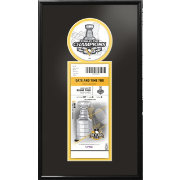 2017 Stanley Cup Champions Pittsburgh Penguins Single Ticket Frame