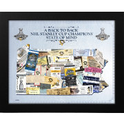 2017 Stanley Cup Champions Pittsburgh Penguins State of Mind Framed Print