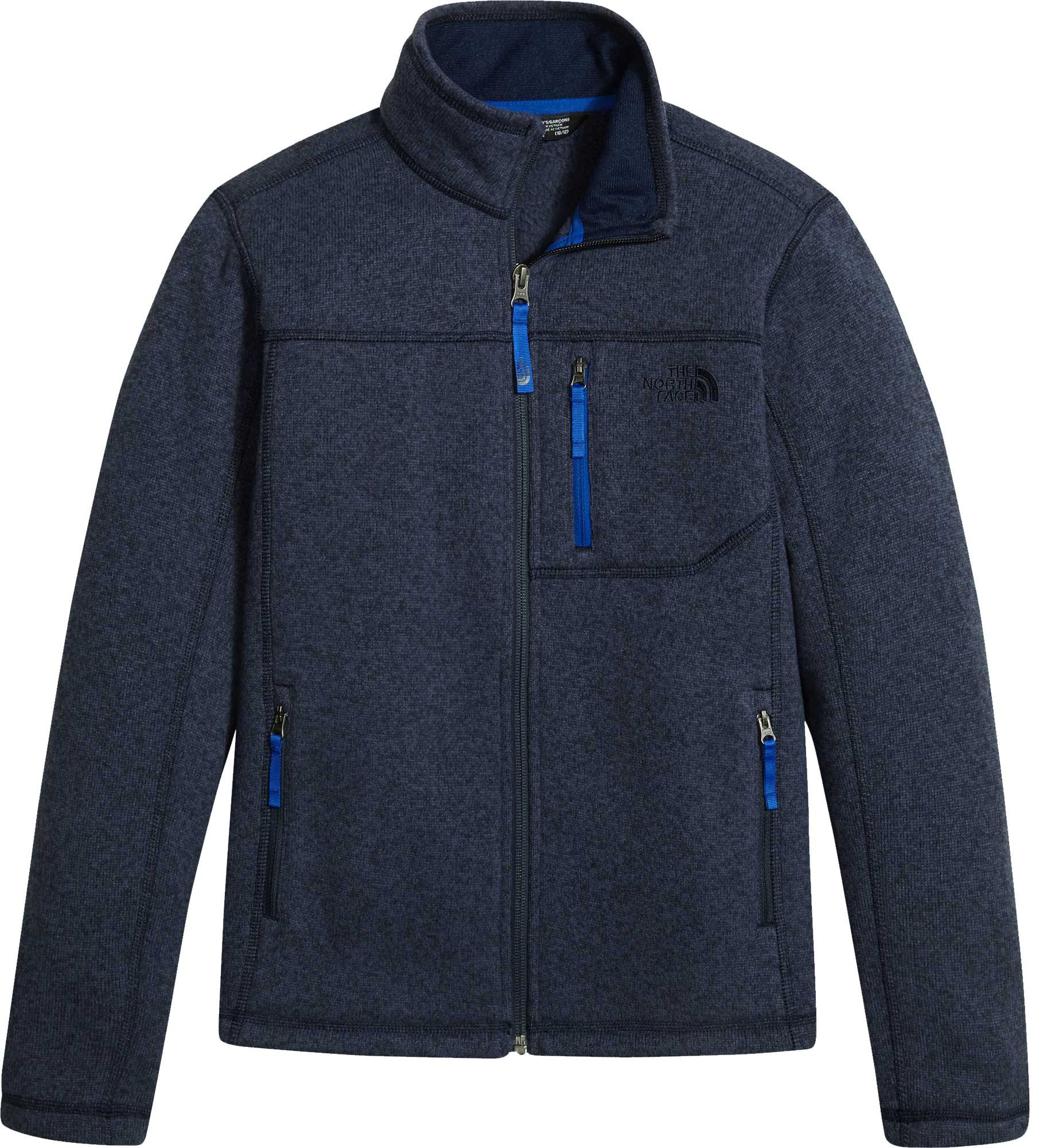 The North Face Boys' Gordon Lyons Full Zip Fleece Jacket - Past Season