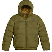 The North Face Boys' Moondoggy 2.0 Down Hooded Jacket - Past Season