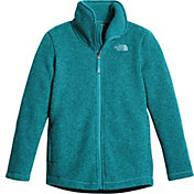 The North Face Girls' Crescent Full Zip Fleece Jacket - Past Season