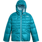 The North Face Girls' Moondoggy 2.0 Down Hooded Jacket - Past Season