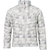 The North Face Girls' ThermoBall Full Zip Insulated Jacket - Past Season