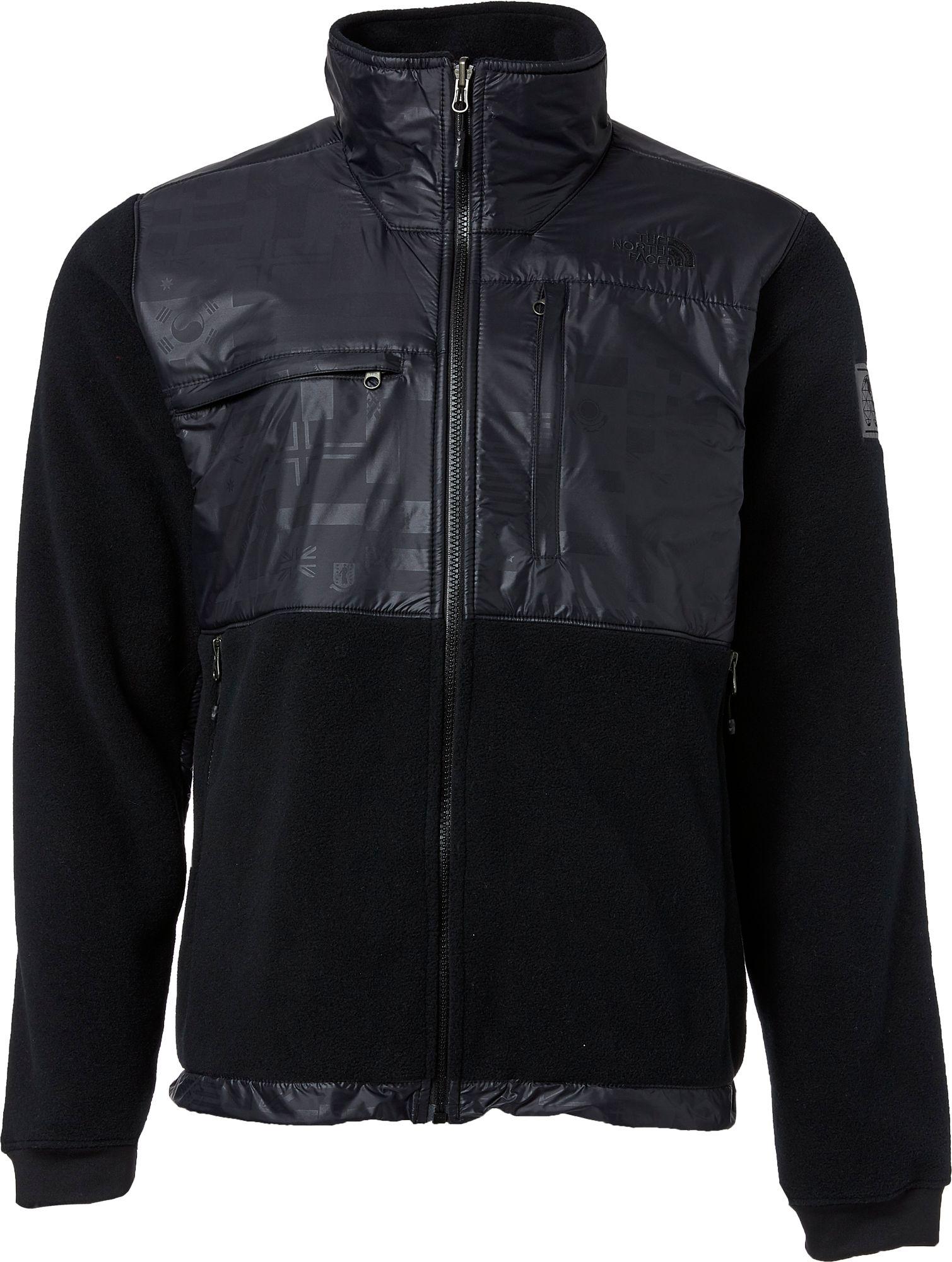 Black fleece jacket north face