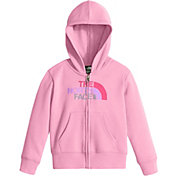The North Face Toddler Girls' Logowear Full Zip Hoodie