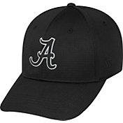 Top of the World Men's Alabama Crimson Tide Parallax Black 1Fit Flex Hat