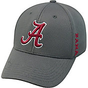 Top of the World Men's Alabama Crimson Tide Grey Booster Plus 1Fit Flex Hat