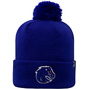 Top of the World Men's Boise State Broncos Blue Pom Knit Beanie