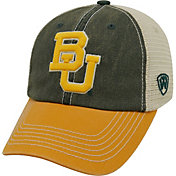 Top of the World Men's Baylor Bears Green/White/Gold Off Road Adjustable Hat