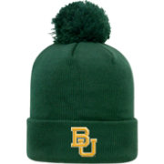 Top of the World Men's Baylor Bears Green Pom Knit Beanie